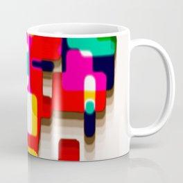 Arcade Crayon Collage Coffee Mug