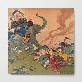 """The Pearl Warrior"" by Edmund Dulac Metal Print"