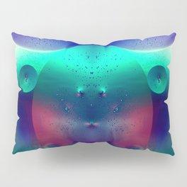 Vibrant Symmetry Oil Droplets Pillow Sham