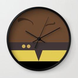 Tuvok - Star Trek Voyager VOY - Minimalist startrek Trektangle Trektangles Maquis - Delta Quadrant Wall Clock