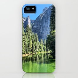 Yosemite Valley Merced River iPhone Case