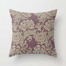 Chrysanthemum By William Morris Throw Pillow