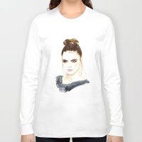cara Long Sleeve T-shirts featuring Cara by Esther Kang