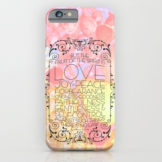 Fruit of the Spirit iPhone & iPod Case