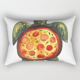 pizza turtle Rectangular Pillow