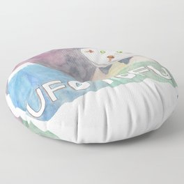 UFO TOFU Floor Pillow
