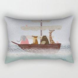 setting sail Rectangular Pillow