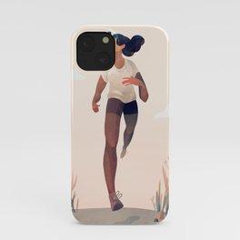Runner Girl iPhone Case