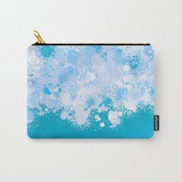 paint splatter on gradient pattern ori Carry-All Pouch