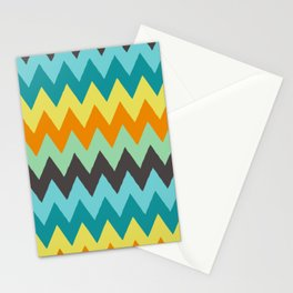 MOROCCAN LINE PATTERNS Stationery Cards