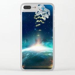 Send love! Clear iPhone Case