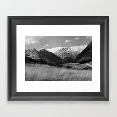 The Ice Cream Mountain Framed Art Print