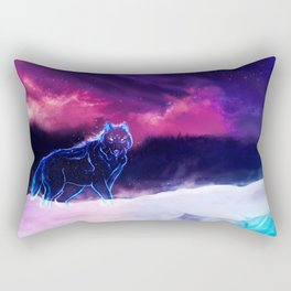 WOLF - Fang Of The North Rectangular Pillow