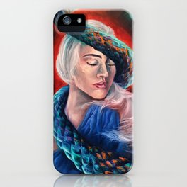 """Lilith"" Painting iPhone Case"