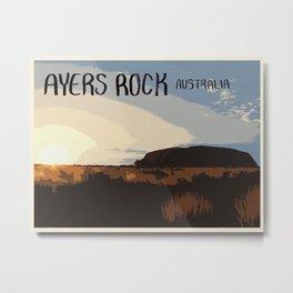 Ayers Rock Metal Print