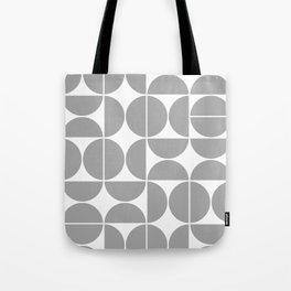 Mid Century Modern Geometric 04 Grey Tote Bag
