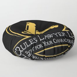 D&D - Rules Lawyer Floor Pillow