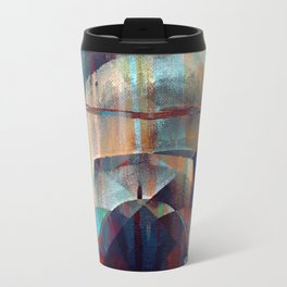 I face every hurdle, with a nervous state of mind Travel Mug