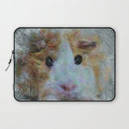 Artistic Animal Guinea Pig 3 Laptop Sleeve