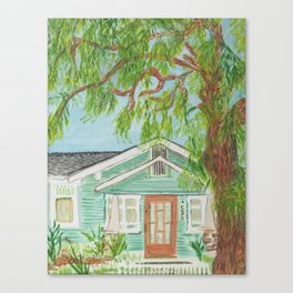 503 B Street Canvas Print