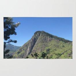 Mountain views Rug
