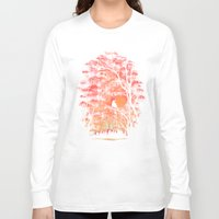 angels Long Sleeve T-shirts featuring Burning In The Skies by Robson Borges