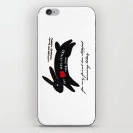 Inktober 2015: Rabbit hearted iPhone Skin