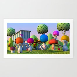 Paintball Art Print