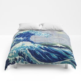 The Starry Night Wave Comforters