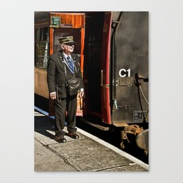 The Ticket Collector Canvas Print