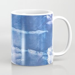 Steel blue clouded wash drawing paper Coffee Mug