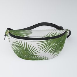 Fan Palm, Tropical Decor Fanny Pack