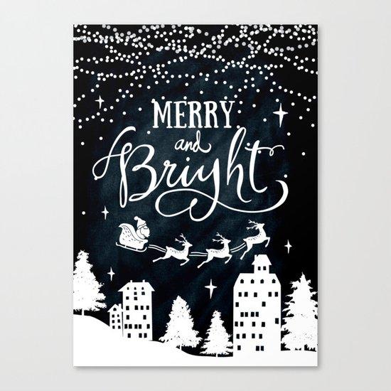 Merry Christmas 02 Canvas Print