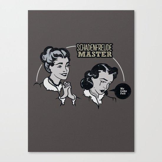 Schadenfreude Master Canvas Print
