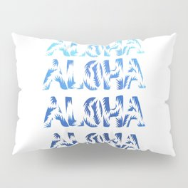 Aloha Blues Pillow Sham