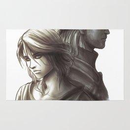 The Witcher 3 - Ciri / Geralt Artwork Rug