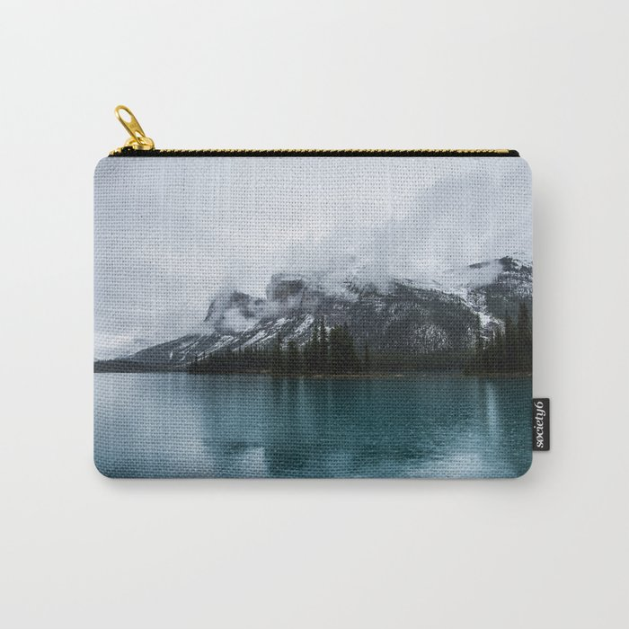 Smokey Mountains Landscape Photography Alberta Carry-All Pouch