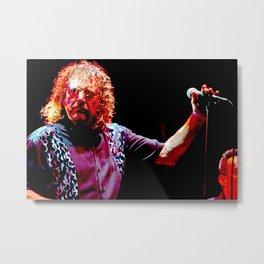 Robert Plant Womad Festival Reading Metal Print
