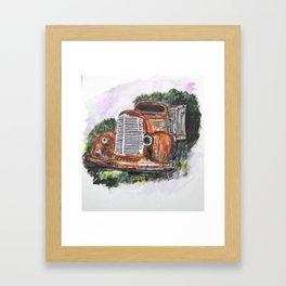 Abandoned Long Haul Framed Art Print