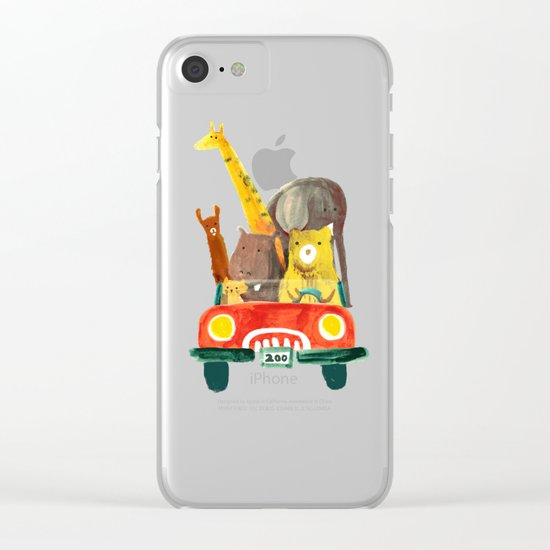 Visit the zoo Clear iPhone Case