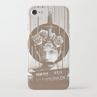 silence of the lambs iPhone & iPod Cases featuring Silence by Kyle Cobban