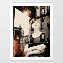 Urban Dreams Art Print