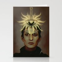 cassandra jean Stationery Cards featuring cassandra pentaghast by lgions
