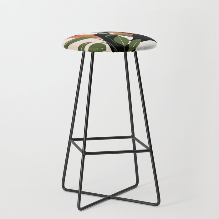 Abstract Female Figure 20 Bar Stool