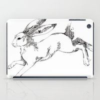 hare iPad Cases featuring Hare by FireofAnubis