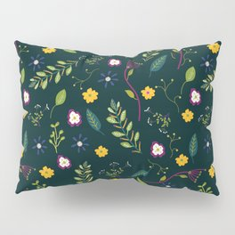 Floral Greenery Pattern I Pillow Sham
