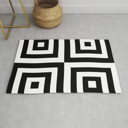 03BW04 | Pattern | Black and White | Digital Art | Artist Amiee Rug