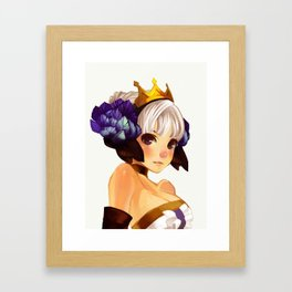 gwen Framed Art Print