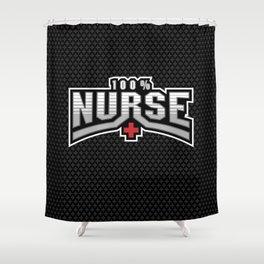 All Nurse Shower Curtain
