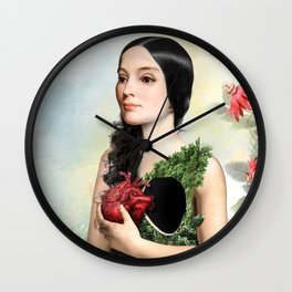 Give Me Your Heart Wall Clock